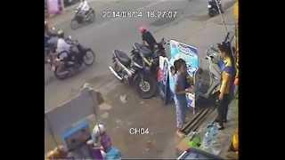 CẢNH BÁO: Trộm xe máy: phá khóa nhanh như chớp