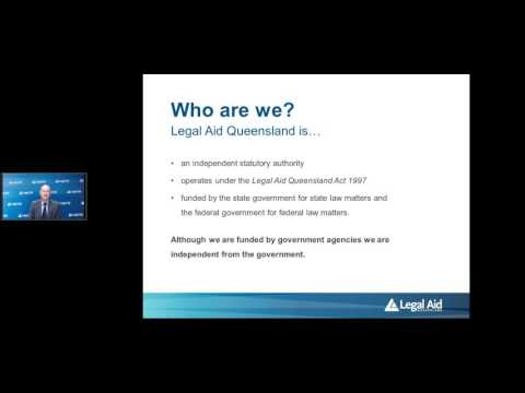 Legal Aid Queensland – an overview of our services
