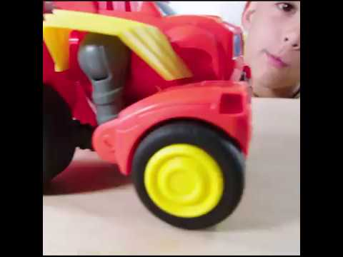 Blaze And The Monster Machines Transforming Robot Rider Blaze Vehicle | Toys R Us Canada