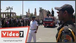 وصول جثمان شهيد الأقصر لمسجد أحمد النجم