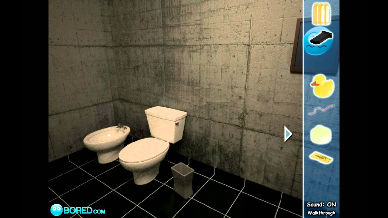 escape 3d: the bathroom (walkthrough) - youtube