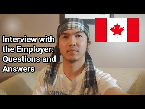 Interview With The Employer | Food Service Supervisors | Questions And Answers