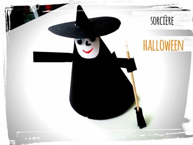 Bricolage De Sorciere D Halloween.Halloween Activite Sorciere Youtube