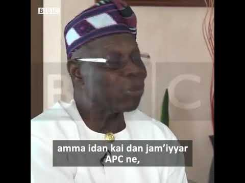 Obasanjo: 'Ko Najeriya ka sace babu komai in kana APC'