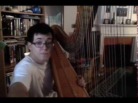newly tuned harp