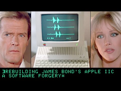 Rebuilding James Bond's Apple IIc - A Software Forgery