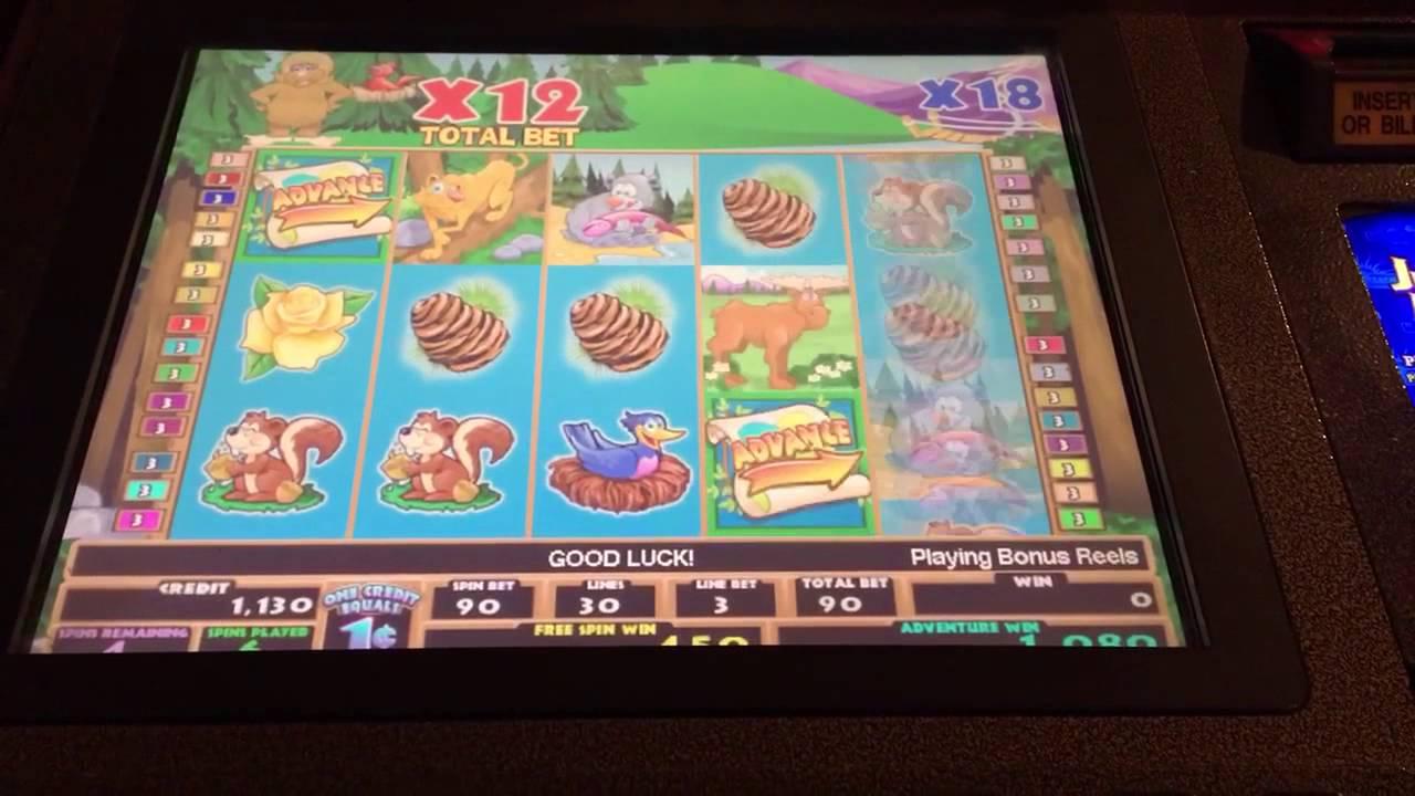 Betty The Yetti Slot Machine Online