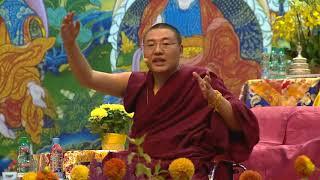 Далай-лама в Риге.  День 1.  Пояснения Янтинга Ринпоче