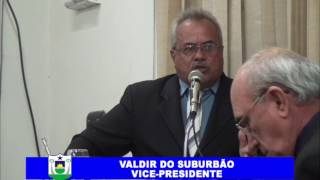 Valdir do Suburbão Pronunciamento 26 01 2017