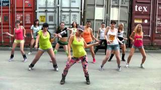 Konshens - Gal a bubble choreo on basic steps by DHQ Fraules