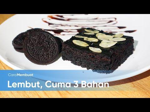 Cara Membuat Brownies Oreo Kukus, Cuma 3 Bahan
