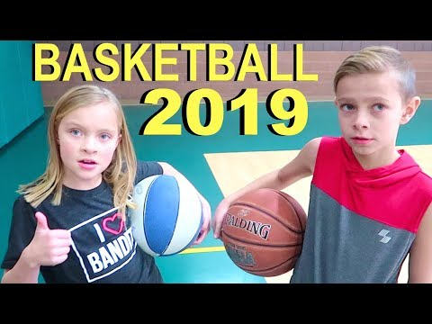 Kids Train for FIRST Basketball Game of 2019!