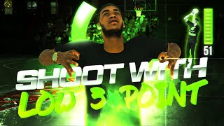 How To Shoot With a Low 3 Point Rating in NBA 2K20! Best Jumpshot NBA 2K20!