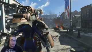 Fallout 4 Gameplay [ Magyar ] [HUN] Ep. 2 [Facecam]