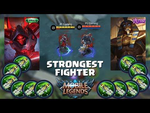 ARGUS VS ROGER !! NIH HERO SAKIT BANGET MAK !! MOBILE LEGENDS