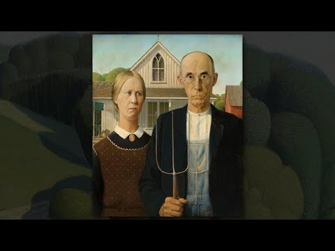 """""""American Gothic"""": The art of Grant Wood"""