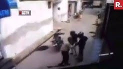 Brave Guard Prevents ATM Robbery At Majra Dabas - Caught On Camera