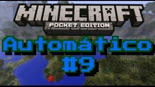 Como fazer uma Fonte Automática! - Minecraft PE Automático #9