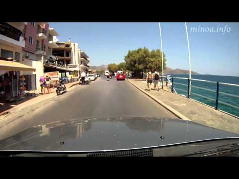Driving Through Agios Nikolaos