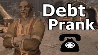 Mogrul Calls for Debts - Skyrim Prank Call