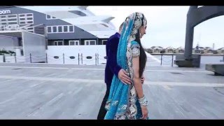 Asian Wedding Highlights | Cinematic Highlights | Helicopter Highlights | Sheraz and Sana's Walima