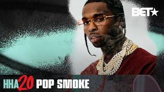 Late Rapper Pop Smoke Wins The Award For Best New Hip Hop Artist | Hip Hop Awards 20