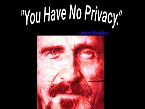 BitCoin Gangsta John McAfee PodCast On Trump Love, AntiVirus Software's Demise & More! (Part 2)