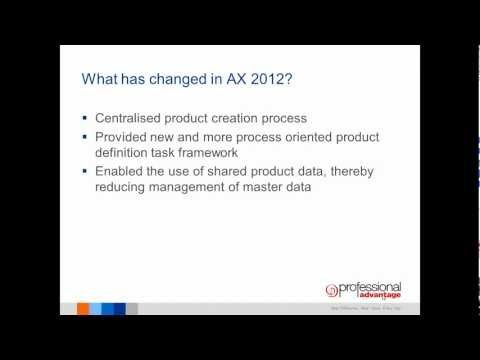 Dynamics AX 2012 Product Information Management