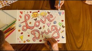 DIE ANTWOORD - LOVE DRUG (Lyric video)