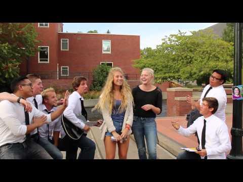 Serenading College Girls Prank