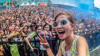 "P.Joana at ""Medan Color Run & DJ Festival 2015"""