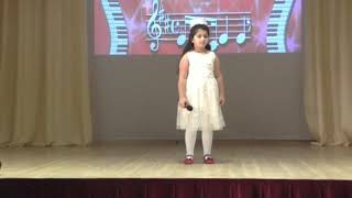 Миробян Анжелика 1 место в конкурсе Волшебный мир детства