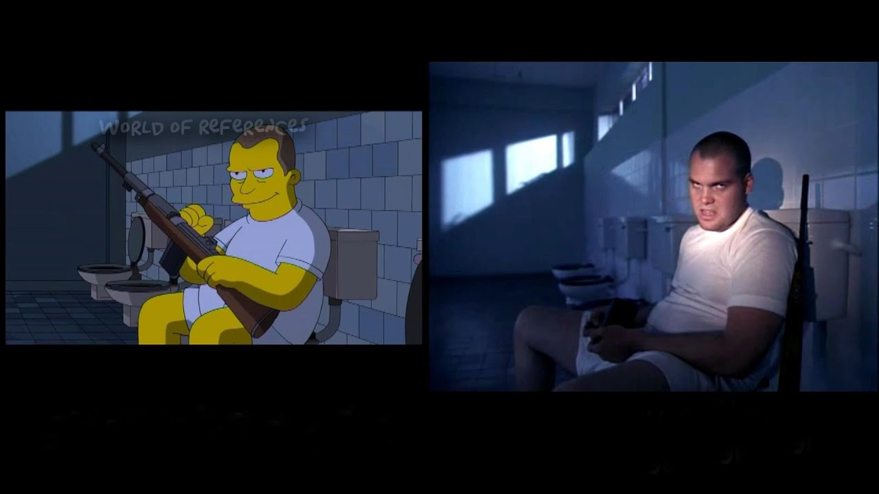 The Simpsons Treehouse Of Horror Movie References Part 25 Youtube