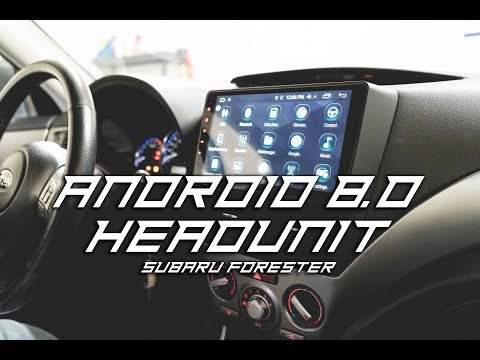 IDoing Android 8.0 Navigation Headunit | Subaru Forester / GR WRX
