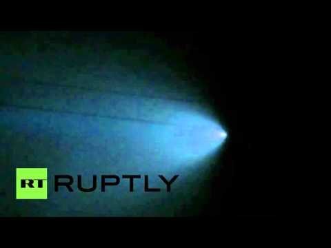 UFO, meteor, military?! Huge tailed object lights up California sky