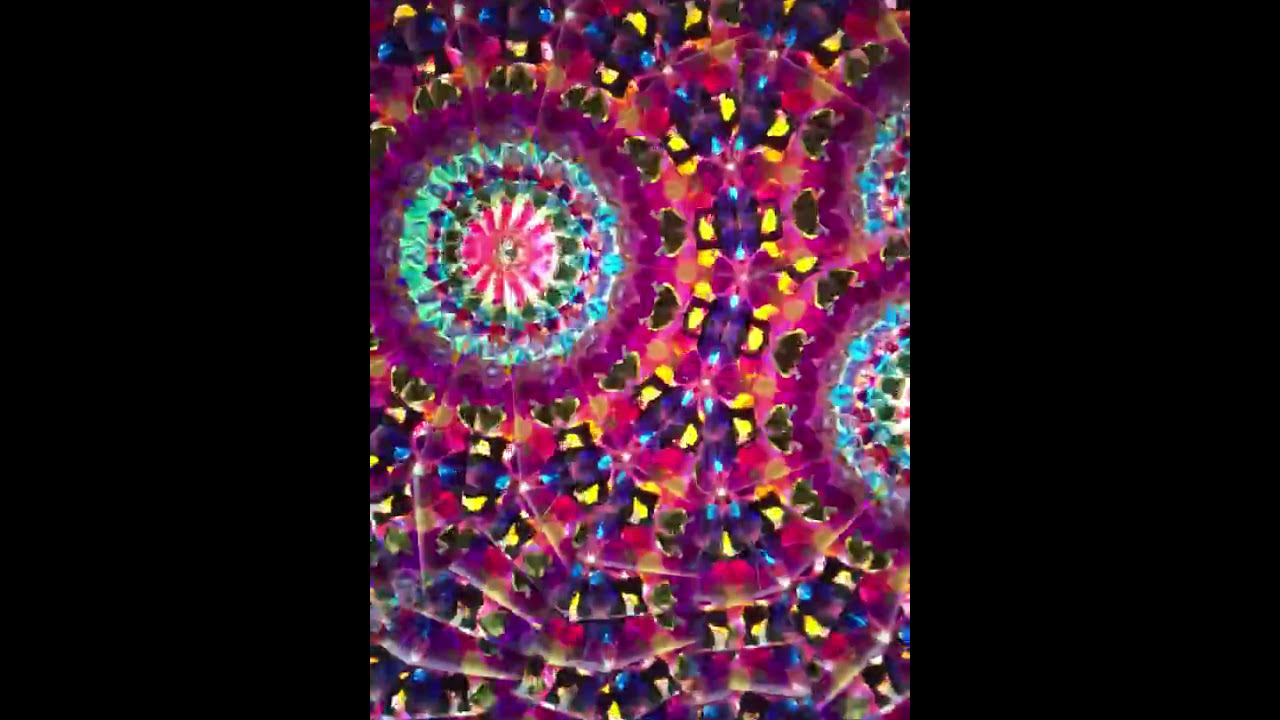 f0afd7235bc2 Kaleidoscope 'Impromptu' in Music Note Stained Glass by Joanne Jacobs