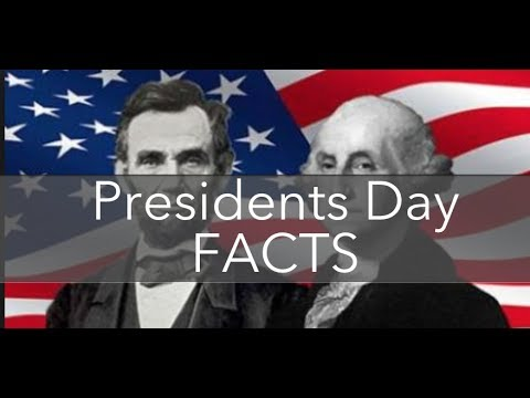 President's Day Washington Lincoln Facts