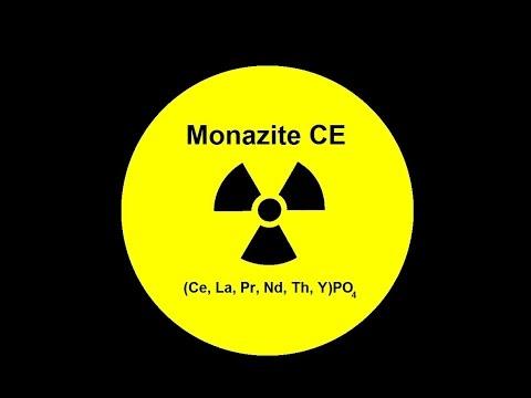 Radioactive Monazite Tested!