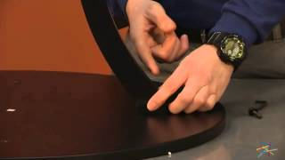 Assembly Video Classic Playtime Round Pedestal Table