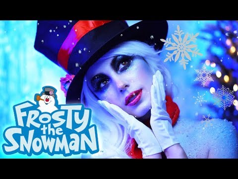 FROSTY THE SNOWMAN | Christmas Makeup Tutorial | Victoria Lyn