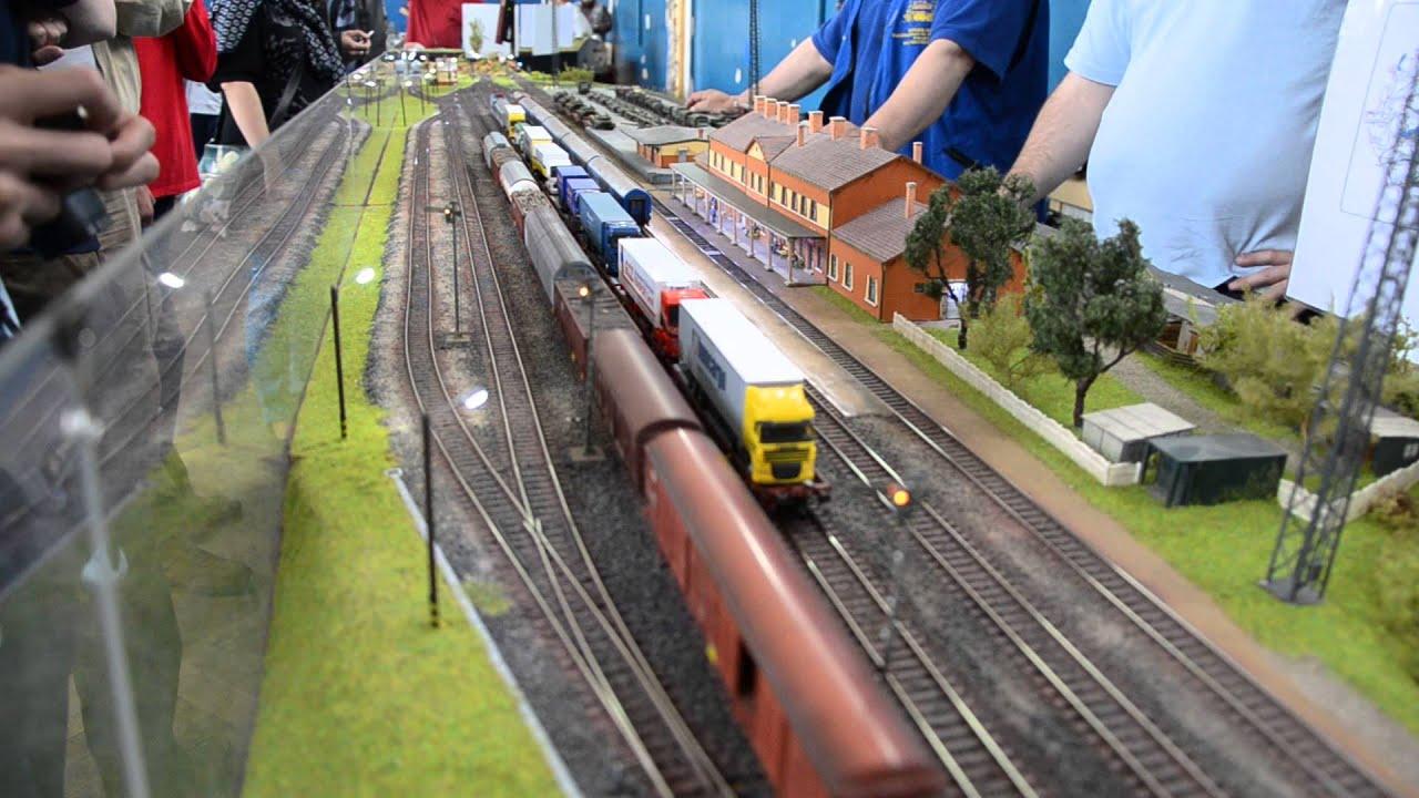Expoziţie de trenuri în miniatură la Oradea