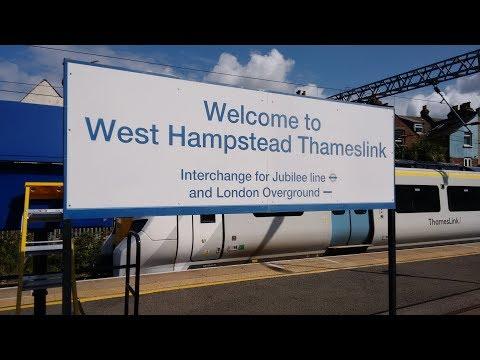 Full Journey on Thameslink (Class 700) from Sevenoaks to West Hampstead Thameslink (via Catford)
