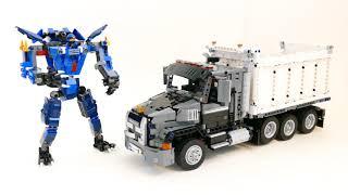 Mack Granite Dump Truck and Ninja Mech update