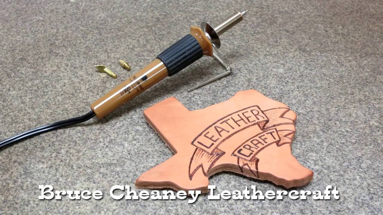 Leather burning tutorial for beginners pyrography on