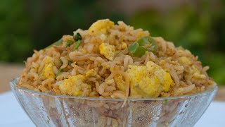 How to make | Egg fried rice | bachelor cooking | fast food