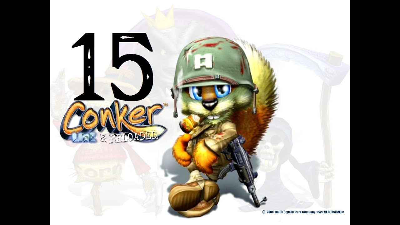 Let S Play Conker Live Reloaded Part 15 Youtube