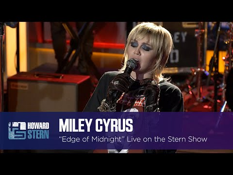 """Miley Cyrus """"Edge of Midnight"""" on the Stern Show"""