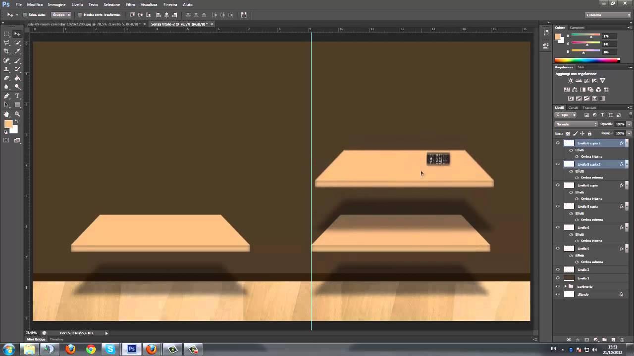 Speed Art Creiamo Uno Sfondo Per Tenere Ordinato Il Nostro Desktop