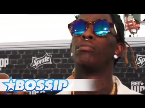 Young Thug Addresses Gay Rumors | Hip Hop Awards 2014 | BOSSIP