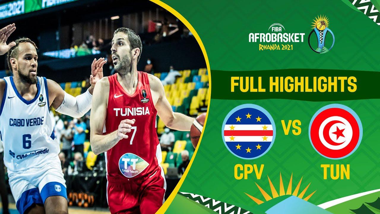 Download Cape Verde - Tunisia   Game Highlights - FIBA AfroBasket 2021